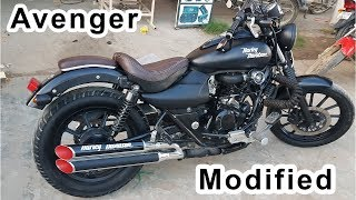 Avenger Modified into Harley Devidson 2019