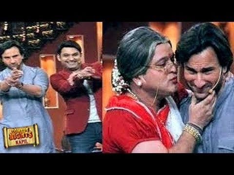 Comedy Nights with Kapil Sharma- Saif Ali Khan 1st December 2013 Special Epsiode
