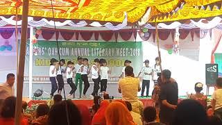Thamoi Thamoi Tinnare, group dance by The students of Kids'Mold School Yairipok Bamol Leikai