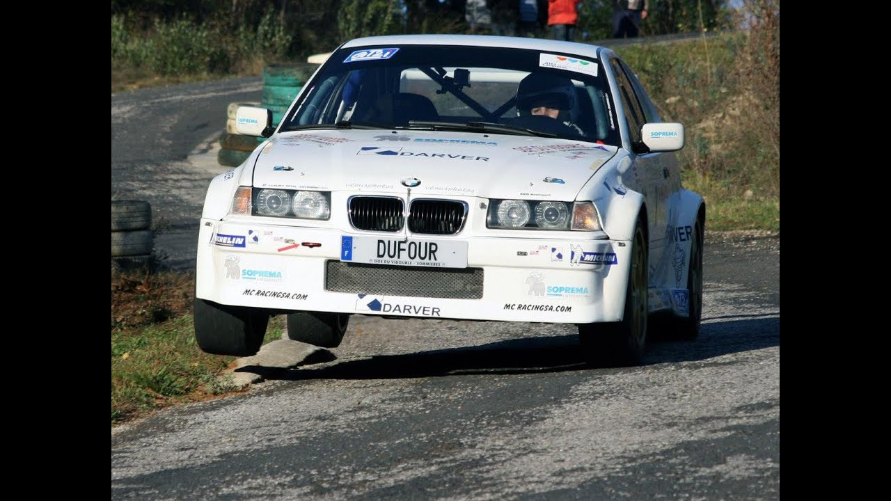Bmw E36 Compact Rally Car Tribute Onboard Cam Youtube
