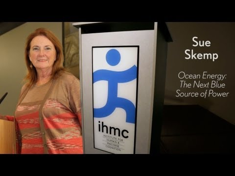 Sue Skemp - Ocean Energy: The Next Blue Source of Power