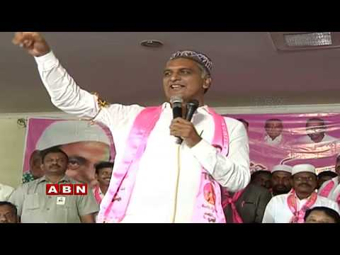 Harish Rao address Ashirvada Atmiya Sammelanam In Gajwel | ABN Telugu