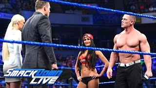 John Cena and Nikki Bella storm onto