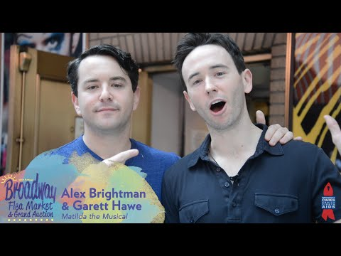Alex Brightman & Garett Hawe Explore Broadway Flea Market