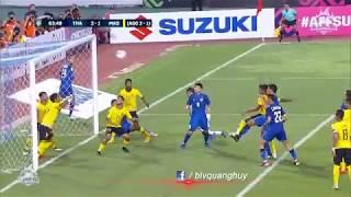 Highlights | Thái Lan vs Malaysia | Bán kết lượt về AFF Suzuki Cup 2018 | BLV Quang Huy