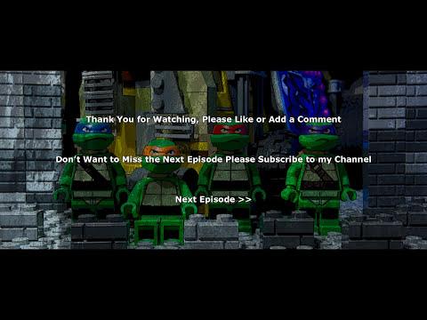 Lego TMNT Teenage Mutant Ninja Turtles Episode 1