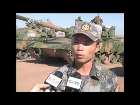 Chinese army armored unit opens to media