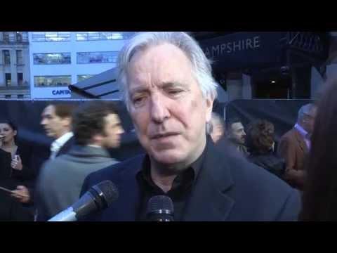 A little Chaos - Alan Rickman - BFI LFF Interviews