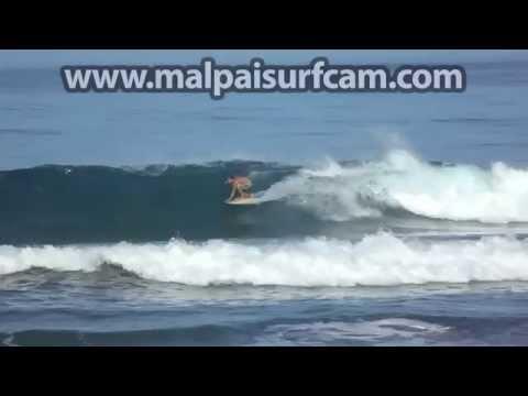 Costa Rica Surfing, www malpaisurfcam com 07 15 15 Santa Teresa Mal Pais