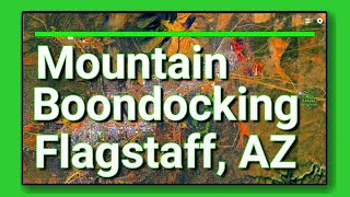 Full Time RV Living: Free and Peaceful Mountain Boondocking in Flagstaff