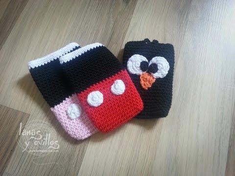 Tutorial Funda Smartphone a Crochet Paso a Paso en Español