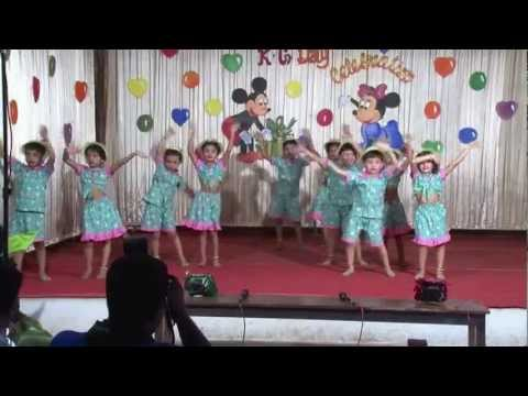 Kg Kids Dance Performance..maria Pitache Goan Song video