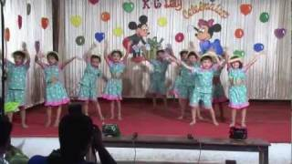"KG Kids Dance Performance..""Maria Pitache"" Goan Song"