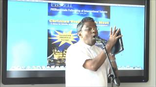 PROFIT - ministry launch in London by Bro.Augustine Jebakumar