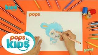 Cách Vẽ Bạn ZAP Phim Hoạt Hình Ngôi Làng Smighties | Siêu Nhân Bút Chì Hướng Dẫn Vẽ Tập 175