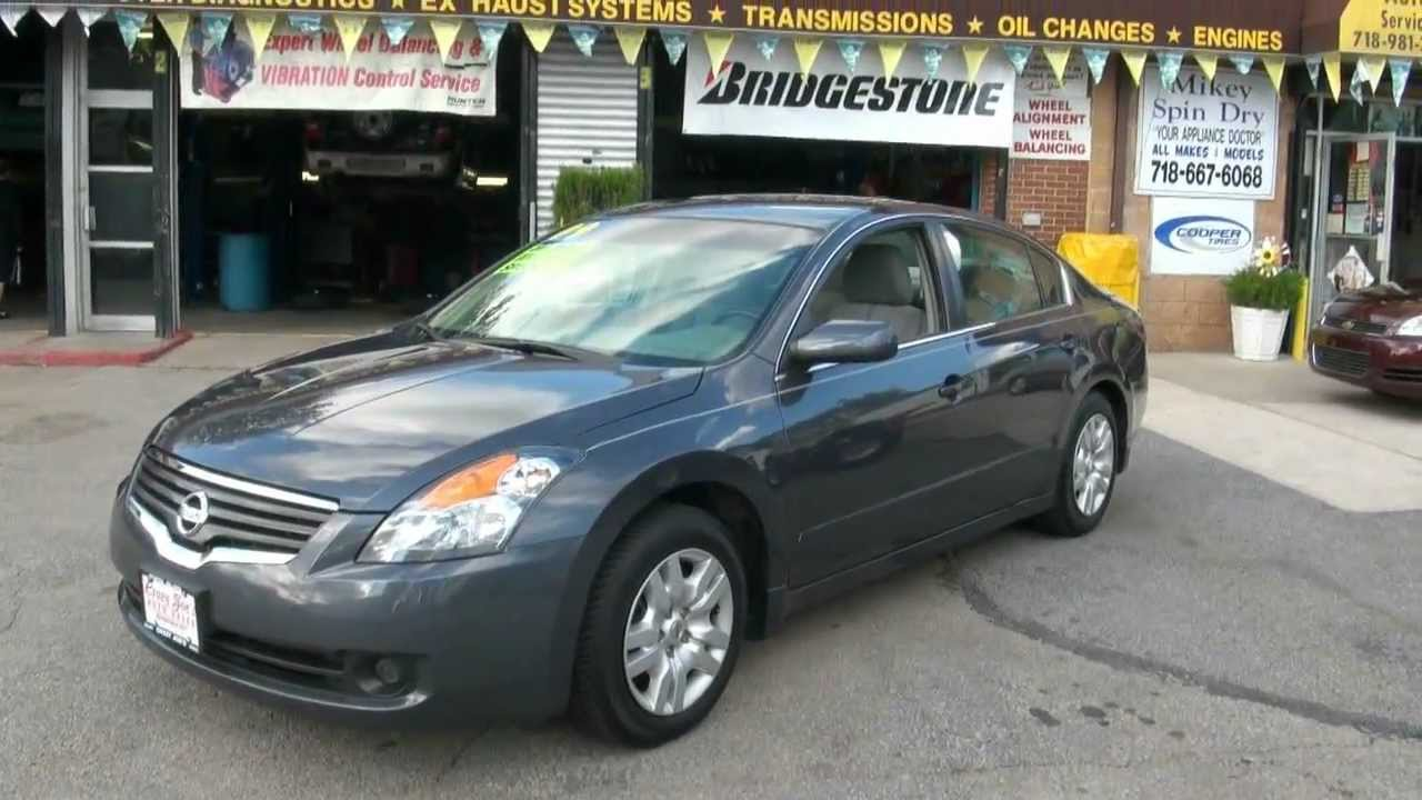 2009 Nissan Altima 2 5 S Sedan Youtube