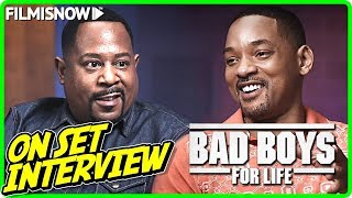 "BAD BOYS FOR LIFE | Will Smith ""Mike Lowrey"" & Martin Lawrence ""Marcus Burnett"" On-set Interview"
