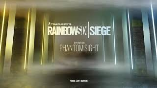 Operation Phantom Sight Menu Music I Rainbow Six Siege