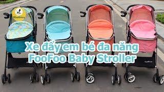 Xe đẩy em bé đa năng FooFoo Baby Stroller | xe đẩy Vovo | danhchobeyeu.com