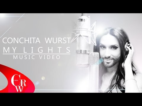 Conchita Wurst MY LIGHTS (NEW MUSIC VIDEO)