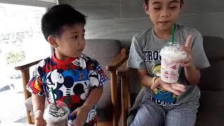 sean and lance 1st starbucks taste