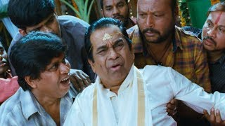Nuvva Nena - Brahmanandam & kovai Sarala Marriage Comedy From nuvva nena