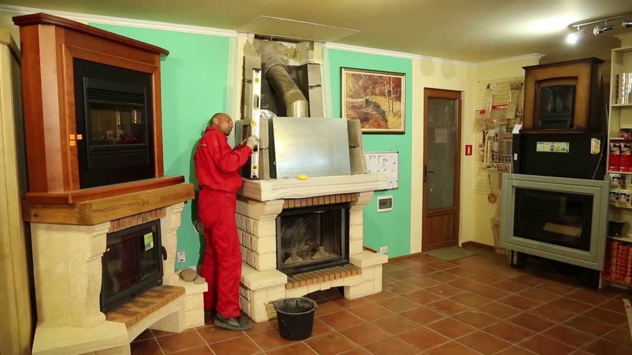 Печь камин своими руками ютуб 67