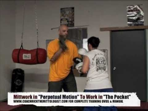 Coach Rick Boxing Mittwork Training Mayweather Defense & Pacquiao Precision Pad Workout Image 1