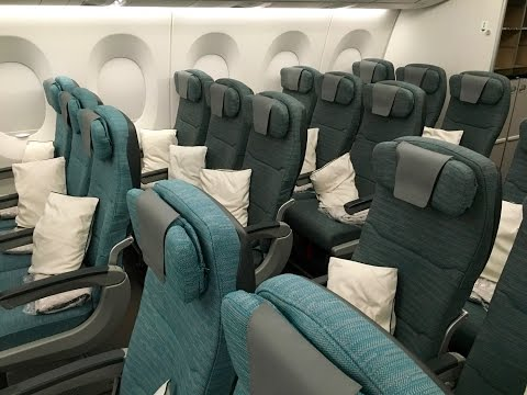 CATHAY PACIFIC A350 XWB FULL CABIN TOUR & REVIEW