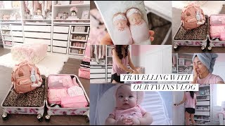 PACKING FOR TWINS FIRST TRIP!👼🏻👼🏻-SLMissGlamVlogs