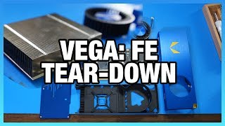 AMD Vega: FE Tear-Down, Die Size, Mounting Spacing, & More