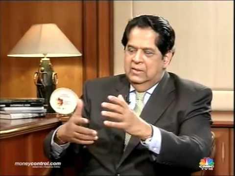 India to be a '10% economy' under Modi govt: KV Kamath -  Part 1