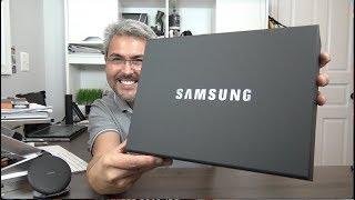 Samsung me mandó una caja! UNBOXING