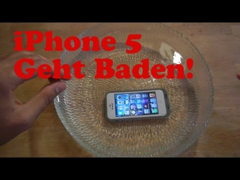 iPhone 5 LifeProof WASSERDICHTE STURZFESTE Hülle - LifeProof Fre iPhone 5 German
