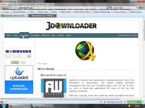 Solución Jdownloader windows 7 64 bits