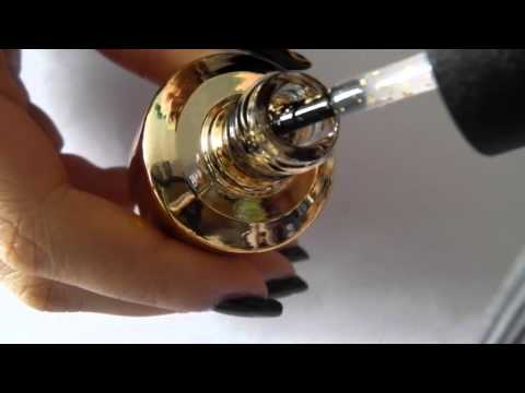 Ghosts Nail Art Tutorial *with OPI The Man With The Golden Gun*