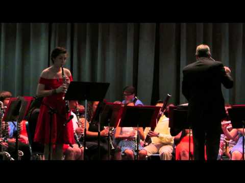 "Fort Walton Beach High School Symphonic Band - Oboe Solo - ""Concerto in G Minor"" 21 May 2013"