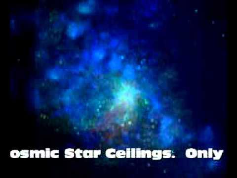 Proglow Glow In The Dark Cosmic Ceiling Blue Paint Youtube