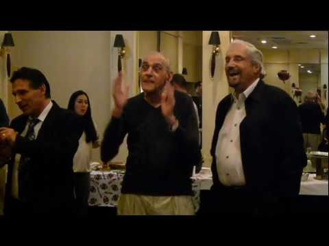 Abe Vigoda 90th Birthday With Hal Linden