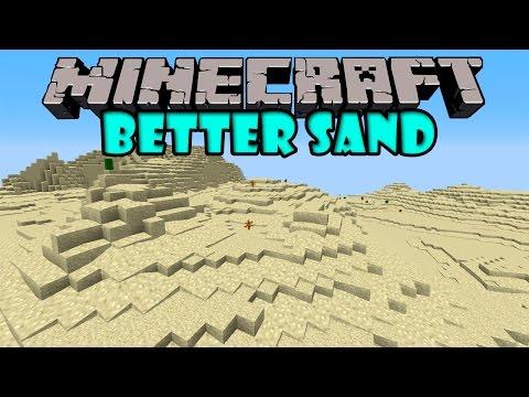 BETTER SAND MOD Arena Super Realista Minecraft mod 1.7.10 Review ESPAÑOL