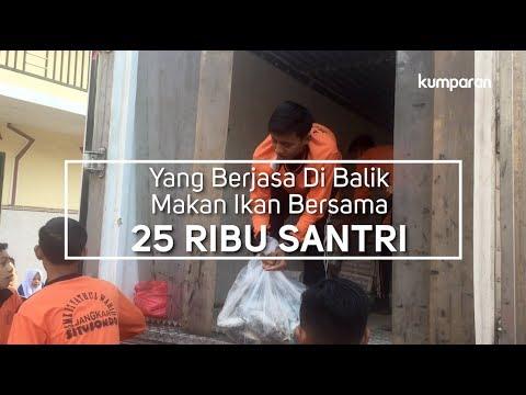 download lagu Yang Berjasa di Balik Makan Ikan Bersama 25 Ribu Santri gratis