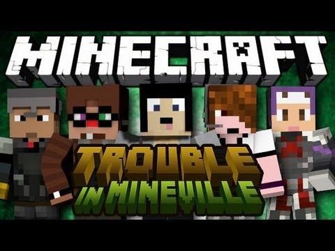 Minecraft: Mini Game: Trouble In Mineville! - Round 3 & 4