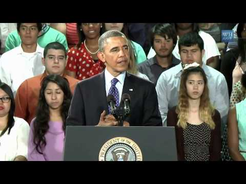 President Obama Speaks at Manor New Technology High School, Austin TX