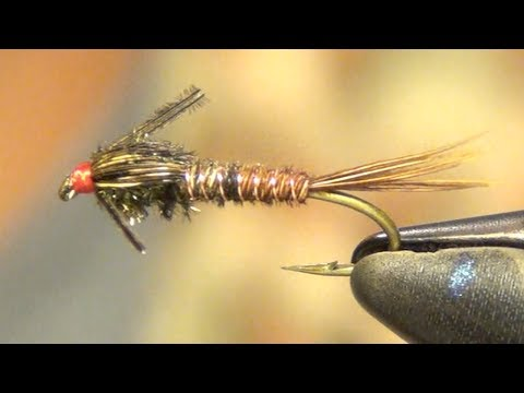 Pheasant Tail Fly Tying Instructions And How To Tutorial