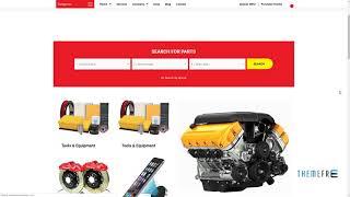 Ajzaa - Auto Parts and Car Accessories Store WordPress Theme      Zep