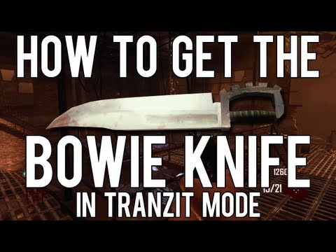 Black Ops 2: How to Get the Bowie Knife in Tranzit Mode Zombies
