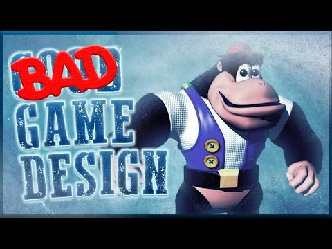 Bad Game Design - Donkey Kong 64