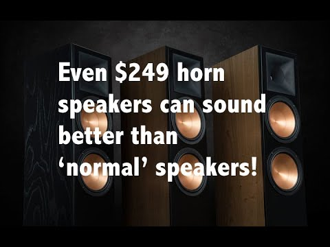 Here's why horn speakers sound better than other types