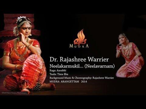 Neelakkarmukil... Bharatanatyam Rajashree Warrier - MUDRA ARANGETTAM 2014