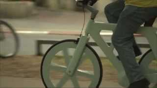 Cardboard bike by Izhar Gafni